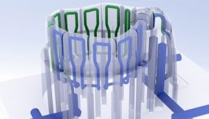 3D Baskı Modelleme Lazer sinterleme süreci