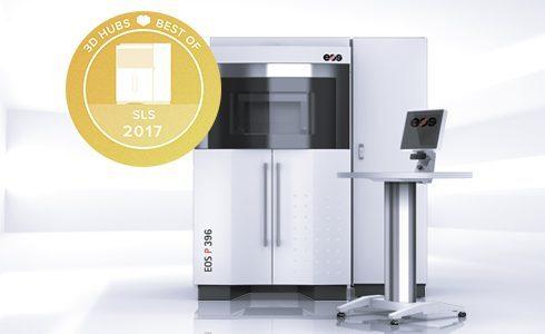 EOS P 396 3D Yazıcı Modeli